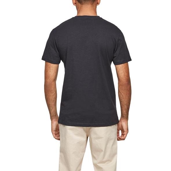 T-Shirt aus Flammgarnjersey - T-Shirt