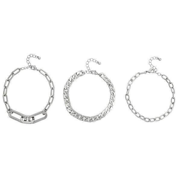 Armband-Set - Three Chains