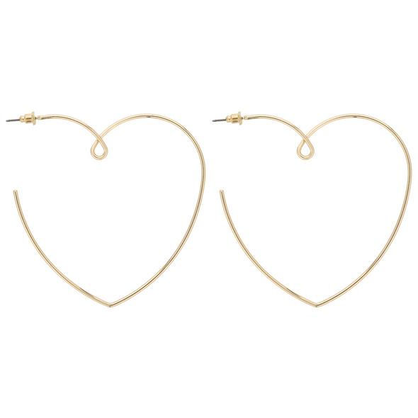 Ohrstecker - Golden Hearts