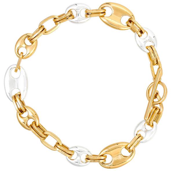 Armband - Golden Coffee