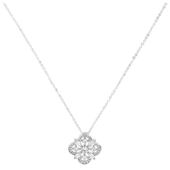 Kette - Crystal Ornament Flower