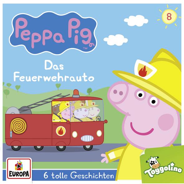 Peppa Pig Hörspiel 08. Das Feuerwehrauto  und 5 we