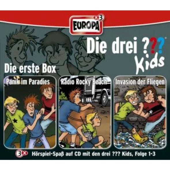 Die drei ??? Kids. 3er-Box Folgen 1-3  drei Fragez