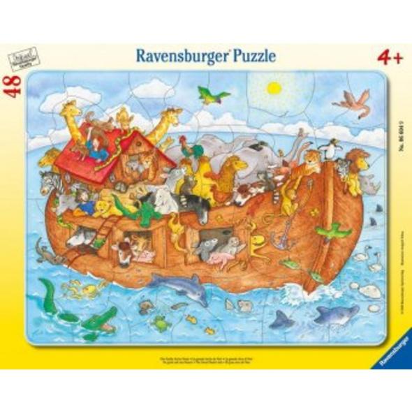 Die große Arche Noah. Puzzle 48 Teile