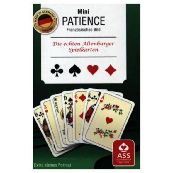 Mini-Patience  Kartenspiel