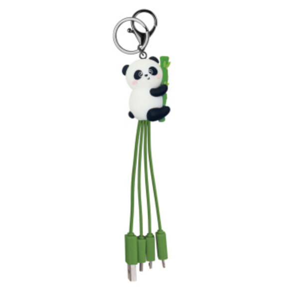 Legami Link Up - Mehrfach-Ladekabel - Panda