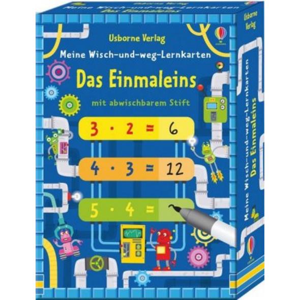 Meine Wisch-und-weg-Lernkarten: Das Einmaleins