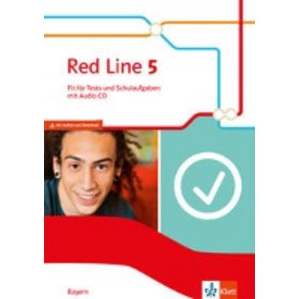 Red Line 5. Fit für Tests und Schulaufgaben mit Au