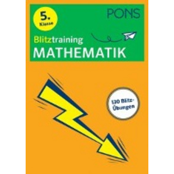 PONS Blitztraining Mathematik 5. Klasse