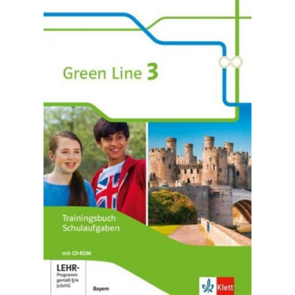 Green Line 3. Ausgabe Bayern. Trainingsbuch Schula