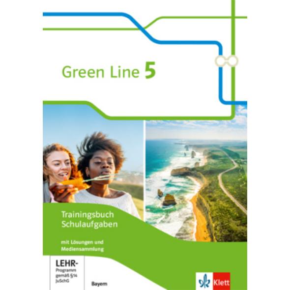 Green Line 5. Trainingsbuch Schulaufgaben, Heft mi