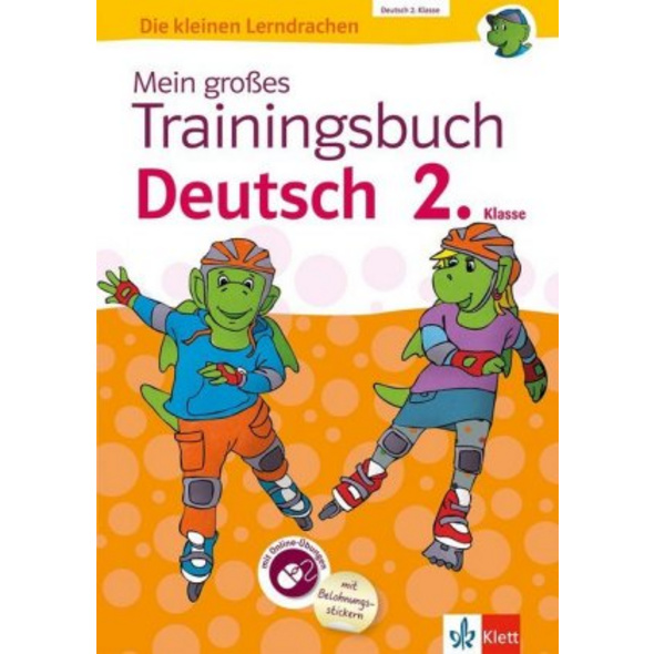Mein großes Trainingsbuch Deutsch 2. Klasse. Mit O