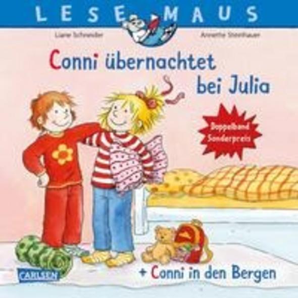 LESEMAUS 207:  Conni übernachtet bei Julia     Con