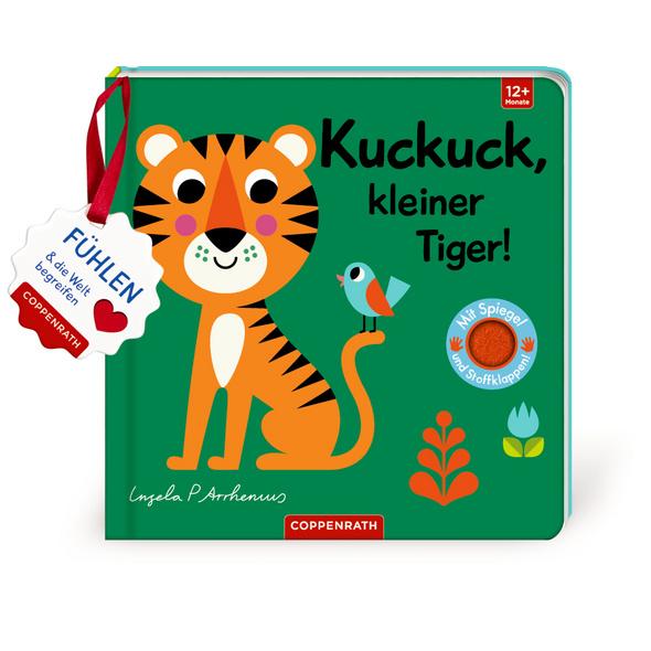 Mein Filz-Fühlbuch: Kuckuck, kleiner Tiger!