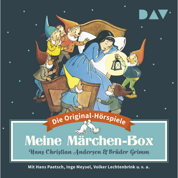 Meine Märchen-Box - Die 34 schönsten Märchen-Hörsp