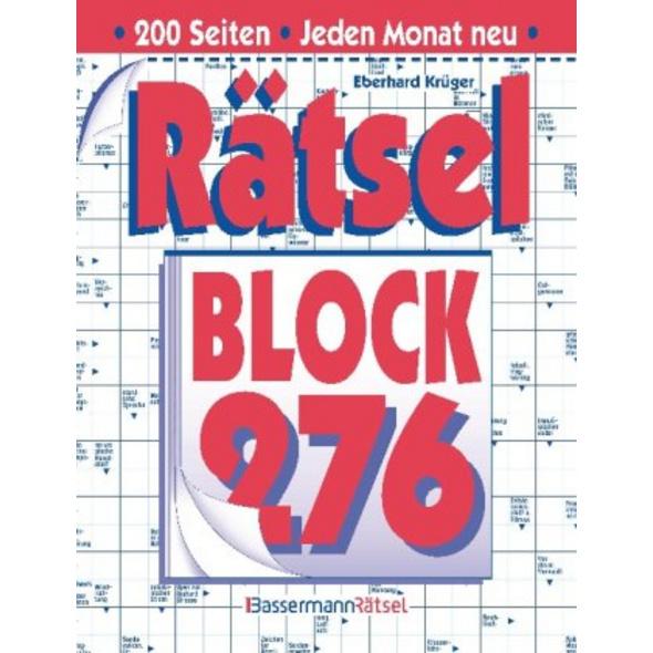Rätselblock. Bd.276