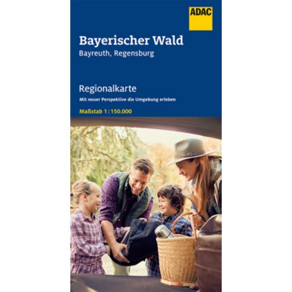 ADAC Regionalkarte Blatt 13 Bayerischer Wald 1:150