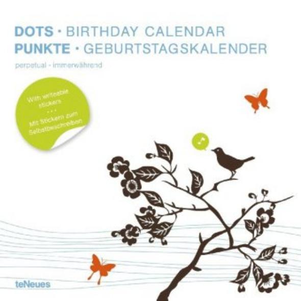 Punkte. Geburtstagskalender
