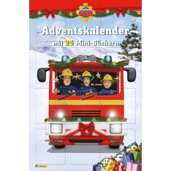 Feuerwehrmann Sam: Minibuch-Adventskalender