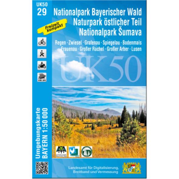 Nationalpark Bayerischer Wald, Naturpark östlicher