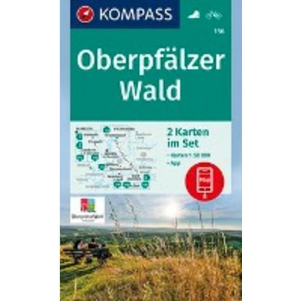 KOMPASS Wanderkarte Oberpfälzer Wald