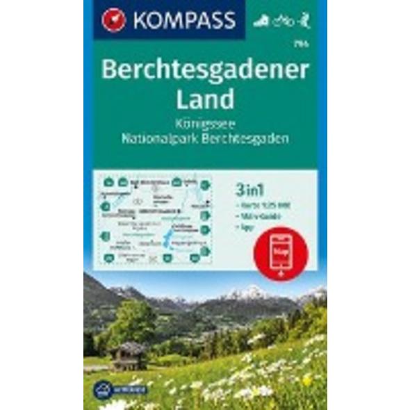 KOMPASS Wanderkarte Berchtesgadener Land, Königsse
