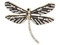 Brosche - Glitter Dragonfly